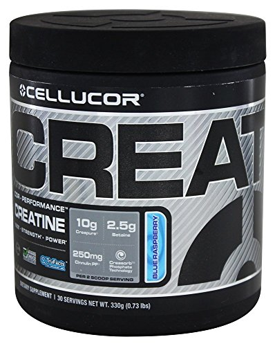 Cellucor - COR Performance Creatine Blue Raspberry, 330 g powder