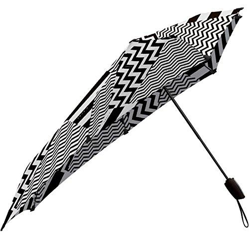 senz° Automatic, Regenschirm Unisex-Adulto S weiß/schwarz