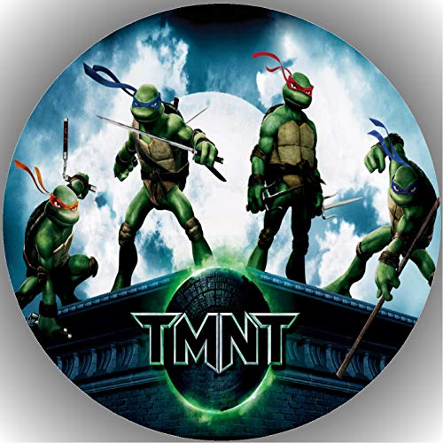 Fondant Tortenaufleger Tortenbild Geburtstag Turtles T6