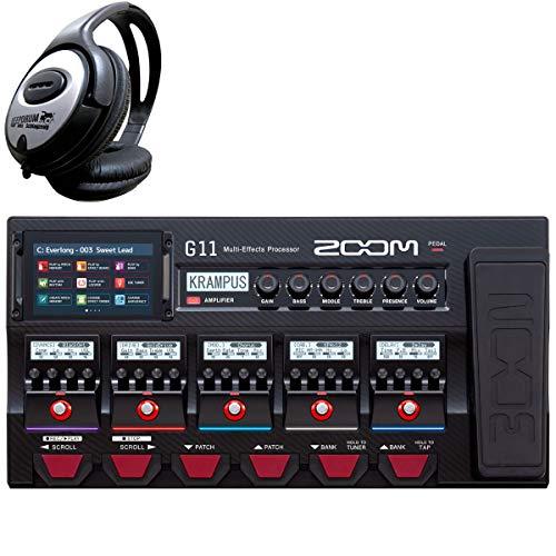 Zoom G11 Multi-Effektgerät + keepdrum Kopfhörer