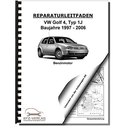 VW Golf 4 Typ 1J (97-06) 4-Zyl 1,4/1,6l Benzinmotor 75-105 PS Reparaturanleitung