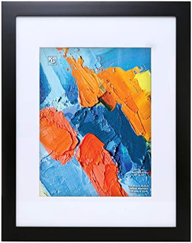 kieragrace KG Langford Frame - Black, 14' x 18' Matted for 10' x 13'