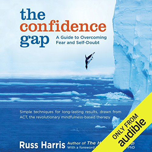 The Confidence Gap audiobook cover art