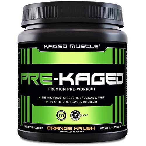 Kaged Muscle Pre-Kaged Pre-Workout Primer Orange Krush