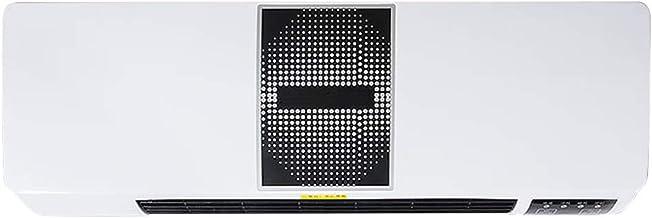 LJ Calefactor de Pared Calefactor de baño, Temporizador y Mando a Distancia para Cuarto de baño, salón o Oficina, Anti Sobrecalentamiento, 1 Posiciones de Calor