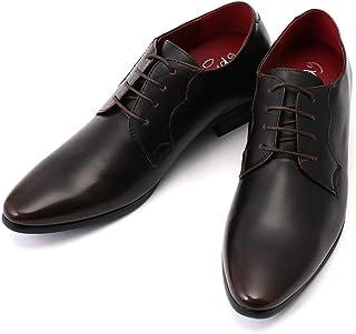 [CLOUD 9 クラウド・ナイン] シークレットシューズ ビジネス 背が高くなる靴 メンズ 7cm 紳士靴 外羽根 結婚式 黒