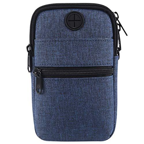 Casual Cowboy Cloth Crossbody Shoulder Pouch Waist Bag for Samsung Galaxy F52 5G M42 5G M12 F12 F02s