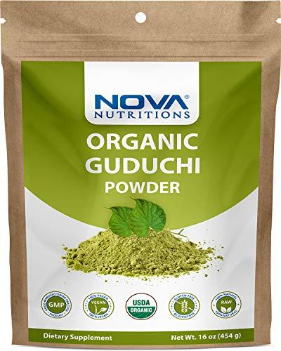 Nova Nutritions Certified Organic Guduchi Powder 16 OZ (454 gm) - Ayurvedic Herbal Immune Support