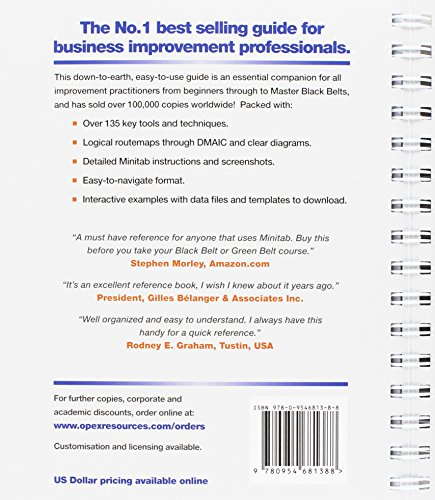 Lean Six Sigma and Minitab (4th Edition): The Complete Toolbox Guide for Business Improvement