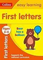 Collins Easy Learning Preschool - First Letters Ages 3-5