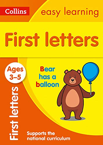 First Letters Ages 3-5: Prepare for Preschool with easy home learning (Collins Easy Learning Preschool)