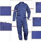 Cofan 11000390 Buzo de trabajo, Azul marino, XXL