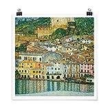 Bilderwelten Poster Galerieprint Gustav Klimt Malcesine am