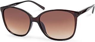 styleBREAKER Lunettes de soleil pour dames Oversize avec verres ovales en polycarbonate et monture en plastique, Retro Sty...