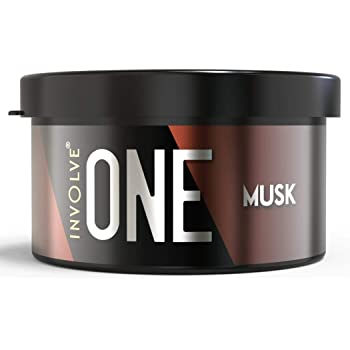 Involve Your Senses ONE Musk Organic Car Perfume, Involve Your Senses Strong Fiber Air Freshener to Freshen'up Your Car - IONE01