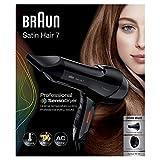 Braun Satin Hair 7 SensoDryer Haartrockner HD 785, mit IonTec und Diffusor, 2000 Watt, Schwarz - 6