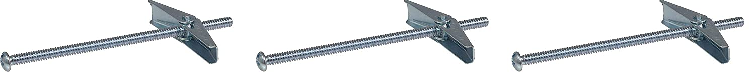 1//8X2-Inch The Hillman Group 370039 Toggle Bolt 50-Pack Pack of 2
