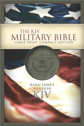 Compare Textbook Prices for KJV Large Print Compact Military Bible  ISBN 9781586403652 by Holman Bible Staff