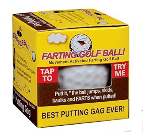 TRICK GOLFBALL COMPANY PTY LTD Rock Ridge Farting Golf Ball - Perfect on the Putting Green
