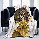 Manta de forro polar de franela ultra suave Avatar The Last Legend Airbender Atla Comics Anime Mang Zuko para todas las estaciones de 60 x 50 pulgadas