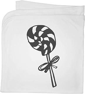 'Spiral Lollipop' Cotton Baby Blanket / Shawl (BY00006102)