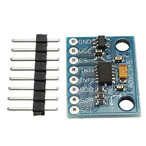 LYFEI Módulo del Sensor de aceleración GY-291 ADXL345 de 3 Ejes de inclinación Digital Gravedad for Arduino Módulo Experimental
