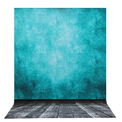 telón de Fondo de la Foto, 2 x 3 m / 6.6 * 9.8 pies BDDFOTO niños Adultos Estudio de Cuerpo Completo fotografía Azul telón de telón para la decoración del hogar telón de Fondo