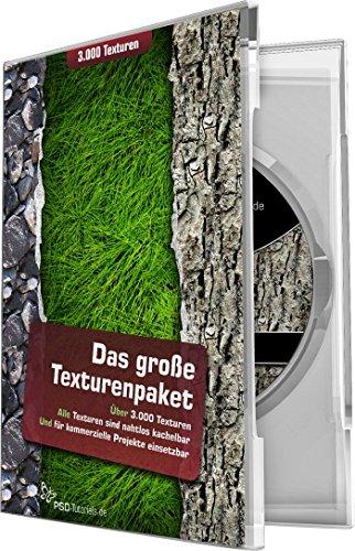 Preisvergleich Produktbild Das große Texturenpaket - 3.000 Texturen (Win+Mac+Tablet)