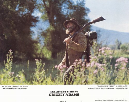 Pop Culture Graphics The Life and Times of Grizzly Adams Poster Movie (1974) Style E 11 x 14 Inches - 28cm x 36cm (Dan Haggerty)(Denver Pyle)(Lisa Jones)(Marjorie Harper)(Don Shanks)