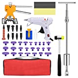 SUPAREE Paintless Dent Repair Removal Remover Tools Kit- 51Pcs Car Dent Puller Kit Easy to Use for Small Dent Door Ding Hail Repair