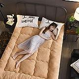 Xb Topper de colchón, Relleno exuberante, Extra Suave, Micro Felpa, Extremadamente Duradero, Confort de Hotel, 10 cm de Altura,90cm*200cm