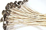 DABLINE ECO 14   20 Candle Wicks For Soy Candles   Candle Wicks   Cotton & Paper Candle Wicks   Pre-Waxed and Tabbed ECO Wicks for Candle Making   Candle Making Supplies  Best Wicks for Soy Candles