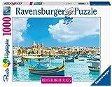 Ravensburger Puzzle, Puzzle 1000 Piezas, Malta, Colección Mediterranean Places, Puzzles para Adultos, Rompecabezas Ravensburger de Alta Calidad, Puzzles Paisajes Adultos