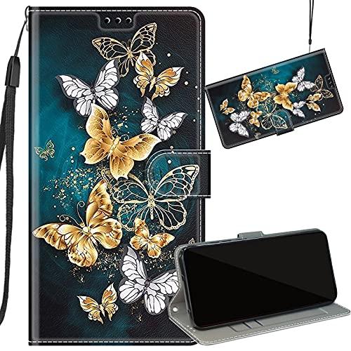Yiizy Funda para iPhone 7 8 Cuero Tapa Carcasa Billetera con Ranura Tarjeta Soporte Cierre Magnético TPU Silicona Cover Carcasa Apple iPhone 7 8, Diseño 10