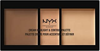NYX PROFESSIONAL MAKEUP Cream Highlight & Contour Palette, Medium