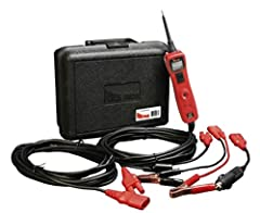 Supply Power or Ground for Functional Component Testing Works on 12 - 24 Volt Range Power Cable Length of 20 Feet DC Voltmeter Indicators provide active feedback Resettable 8 Amp Circuit Breaker; Continuity Tester; Component Tester