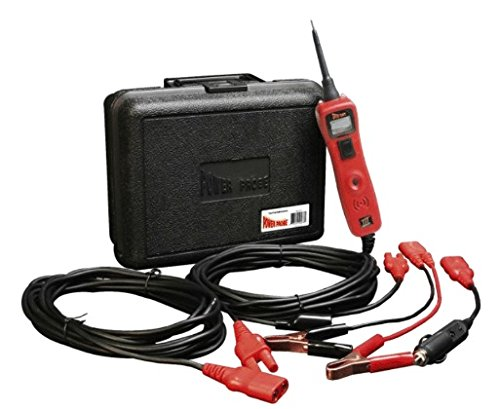 Power Probe III w/Case amp Acc  Red PP319FTCRED Car Automotive Diagnostic Test Tool Digital Volt Meter AC/DC Current Resistance Circuit Tester