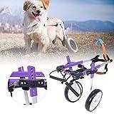 Zoom IMG-2 carrozzina per cani regolabile 2
