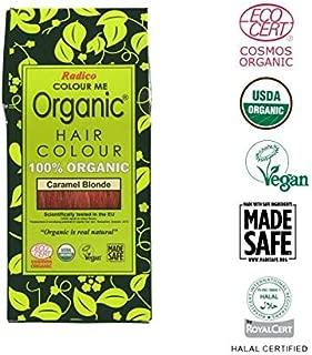 Radico Colour Me Organic 100% Natural Hair Dye (Caramel Blonde) by RADICO COLOUR ME