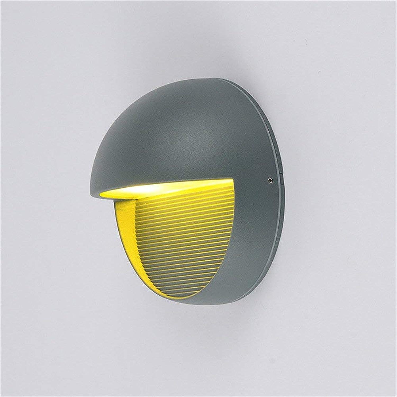 MOM Wandleuchte -Led Outdoor Wasserdichte Beleuchtung Villa Hof Lampe Beleuchtung minimalistischen Hotel Villa Zimmer Gang Tür Dekoration Licht