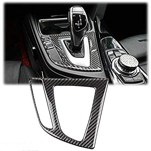 SPLLEADER Auto-Gangschaltung-Panel-Abdeckung Trim-Carbon-Faser for BMW 3 Serie 4 F30 F31 F34 F32 F33 F36 Car Styling Zubehör Voiture interieur