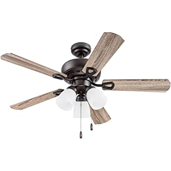 Portage Bay 51442 Miller Park Ceiling Fan, 44, Bronze