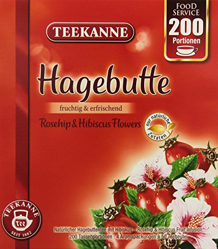Teekanne Hagebutte, 1er Pack (1 x 490 g)