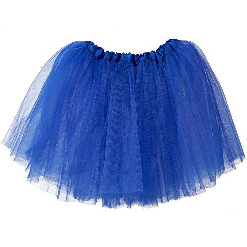 3-Layer Ballerina Tutu Royal Blue (10 mo - 3T)