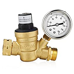 Renator M11-0660R Water Pressure Reducer with Gauge