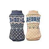 Handfly Pet Dog Cat Warm Jumper Sweater Knitwear Coat Apparel Clothes
