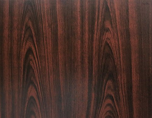 BEAUTEX Klebefolie Dekorfolie Holzdekor Struktur Palisander 45x200 cm Selbstklebefolie Möbelfolie