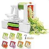 Best Spiral Slicers - Spiralizer 7-Blade Vegetable Slicer, Strongest & Heaviest Duty Review