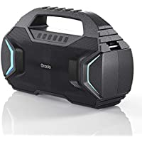 Oraolo Portable Bluetooth Speaker with 40W Loud Stereo (Black)