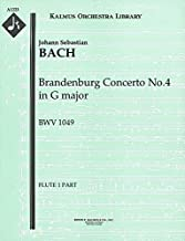 Brandenburg Concerto No.4 in G major, BWV 1049: Flute 1 and 2 parts (Qty 2 each) [A1223]